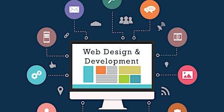 Website Development & Design using Joomla & Word Press CMS tickets