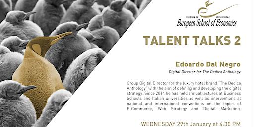 Talent Talk - ESE MILAN