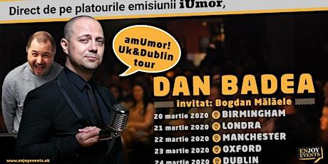 Am Umor  cu Badea si Bogdan Malaele- Manchester tickets