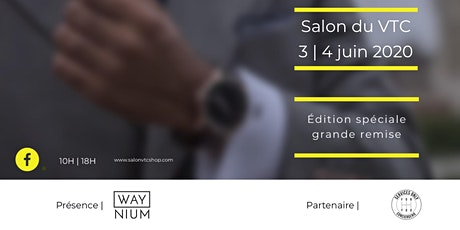 Salon du VTC Paris 2020 billets
