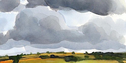 'Painting the Sky' A watercolour  workshop with artist Robert Newton