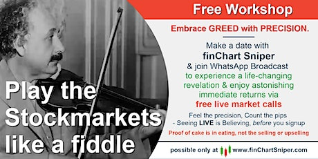 Play the Stockmarket like a fiddle - Free Workshop - 08/02 tickets