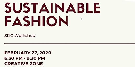 SUSTAINABLE FASHION - SDG Workshop