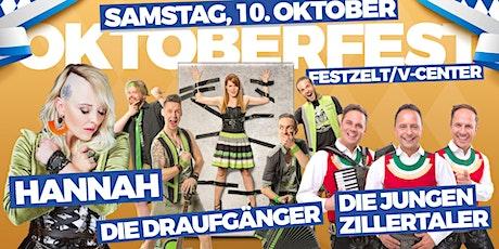 Villacher Oktoberfest 2020 - Samstag - Im Festzelt am V-Center Parkplatz Tickets