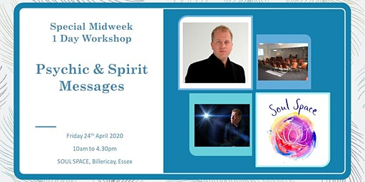 Special WeekDay 1 Day Workshop -  Psychic & Spirit Messages