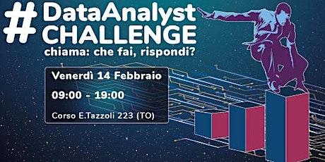 #datanalystchallenge biglietti