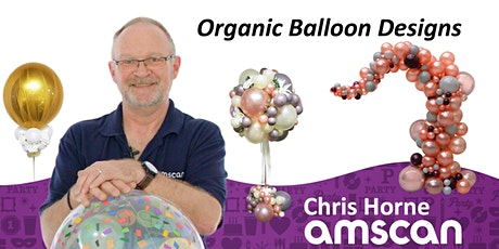 Organic Balloon Designs with Chris Horne - March tickets
