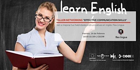 "Taller-Networking en Inglés ""Effective Communication Skills"" entradas"