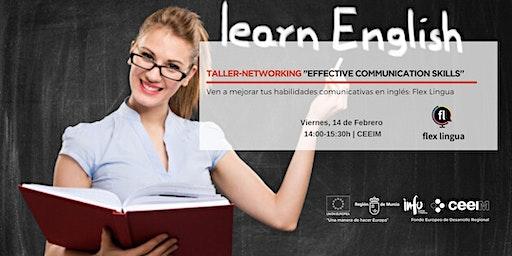 "Taller-Networking en Inglés ""Effective Communication Skills"""