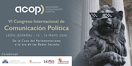 VI Encuentro Internacional de Comunicación Política ACOP León entradas