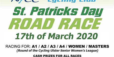 St Patrick's Day Road Race 2020  North Pole Cycling Club tickets