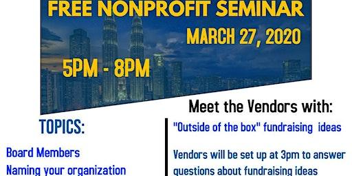 FREE Event: Starting a Nonprofit Organization