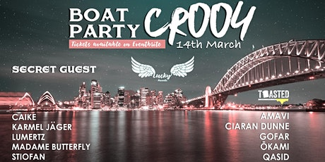 BOAT PARTY // Lucky Presents // CR 004 'Toasted' Pirates & SG tickets