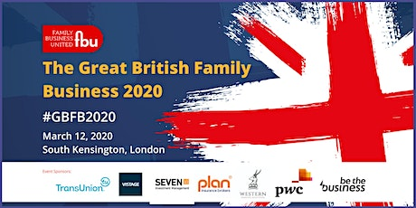 The Great British Family Business 2020 tickets