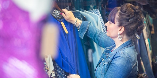 Charity Shopping Tour with a Personal Stylist