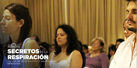 Taller gratuito de Respiración y Meditación - Introducción al Happiness Program en Vitacura entradas
