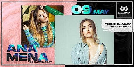 Ana Mena en concierto - Sala Kaya entradas
