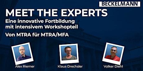 MTRA/MFA- Fortbildung   >Meet the Experts< Tickets