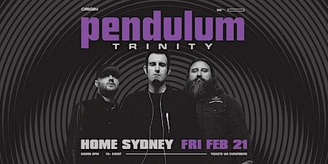Pendulum Trinity - Sydney tickets