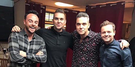 New Years Eve 2020 with Robbie Williams Tribute tickets