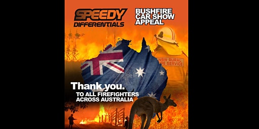 Speedy Differentials Bush Fire Car Show Appeal