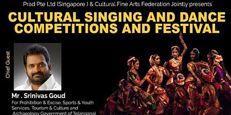 Indian cultural singing and dance competitions in Bangkok tickets