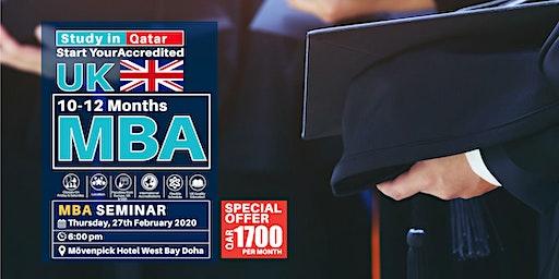 UK MBA Seminar - Qatar