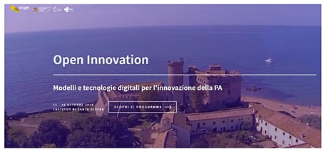 Open Innovation nella PA - Seminario biglietti