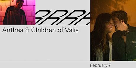 Anthea & Children of Valis tickets