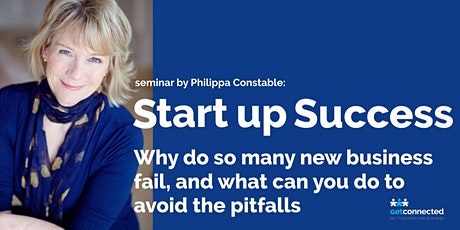 Start up Success  Why do so many new businesses fail, and what can you do to avoid the pitfalls  tickets