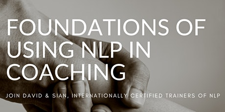 Foundations of  NLP in Coaching tickets
