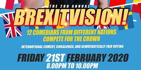 Brexitvision! 2020 - International Comedy Competition tickets