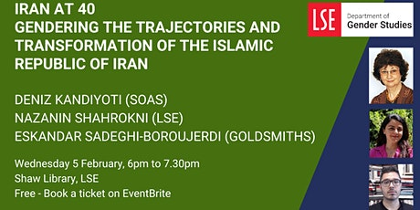 Iran at 40: Gendering the Trajectories and Transformation of the Islamic Re tickets