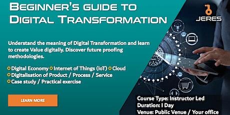 Beginner's Guide to Digital Transformation tickets