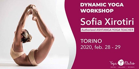 Sofia Xirotiri - Dynamic YOGA Workshop biglietti