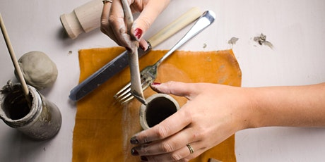 Ceramic Hand-building Classes + a glass of wine - Streatham Wine House tickets