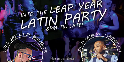 Leap Year Latin Dance Party | Salsa, Bachata, Reggaeton | Food Available