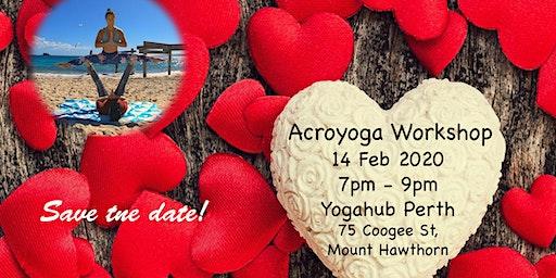 Valentine's Day Acroyoga & Thai Massage Workshop