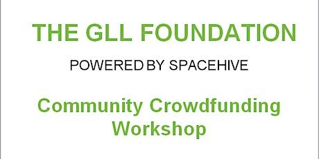 GLL Community Foundation Workshop tickets