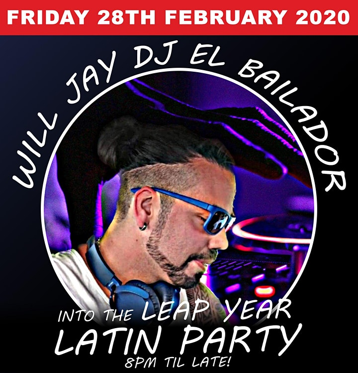 Leap Year Latin Dance Party | Salsa, Bachata, Reggaeton | Food Available image