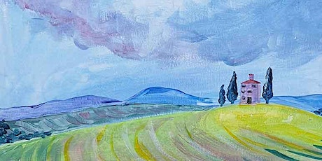 Paint and Sip Tuscany Fields 8 April tickets