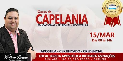 Curso Intensivo de Capelania Evangélica.