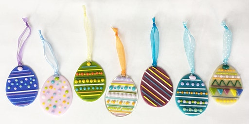 Easter Fused Glass Decorations