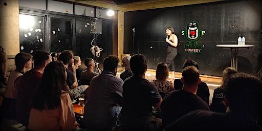 Take That Microphone! English Comedy Open-Mic
