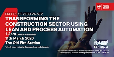 Transforming the Construction Sector using  Lean and Process Automation tickets