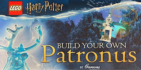 LEGO Harry Potter Build Your Own Patronus at Garsons Titchfield tickets