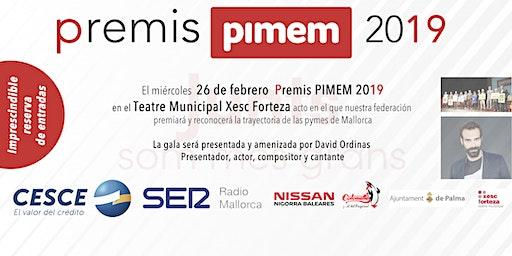 Premis PIMEM 2019
