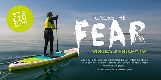 """""""Ignore the Fear"""" Talk and book signing with the author"""