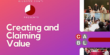 Creating and Claiming Value - Conti Advanced Business Learning tickets