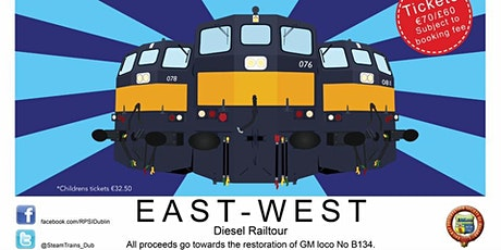 East - West Diesel Railtour - CANCELLED tickets